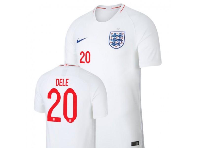 info for 774ca 8c6e8 England National Soccer 2018 World Cup White #20 Dele Alli ...