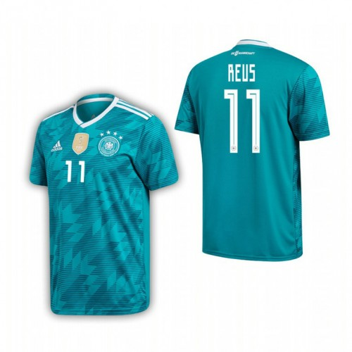 promo code a479f bce65 Germany National Soccer 2018 World Cup Green #11 Marco Reus ...