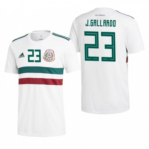 quality design 40de6 aaaae Mexico National Soccer 2018 World Cup White #23 Jesús ...
