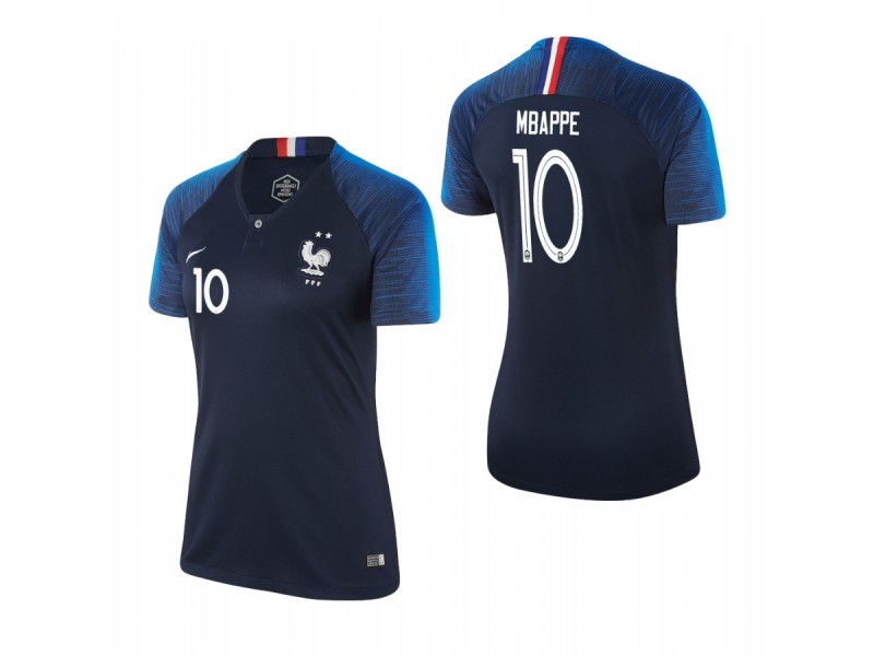 buy online ab2cd 75003 Women's France National Soccer 2018 World Cup Champions Navy ...