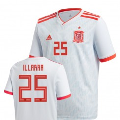 Youth Spain National Soccer 2018 World Cup Light Blue #25 Asier Illarramendi Replica Jersey